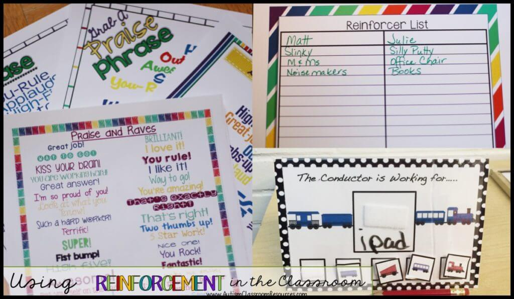We use lots of different kinds of reinforcement in special education classrooms from praise to tokens and more. Here are some tips for getting the most for your reinforcement investment.