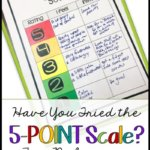 The 5-Point Scale is an amazingly simple but useful tool to teach students to regulate a wide variety of behaviors. Click through for more information and resources to use it in your classroom for behavior management.