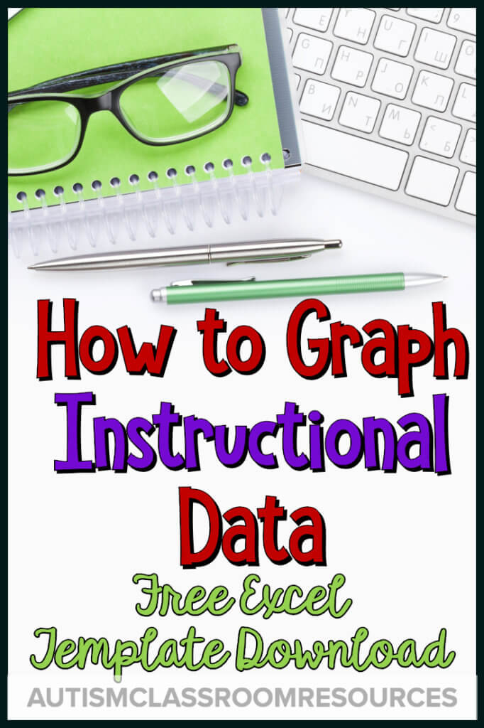 How to graph instructional data: free excel download