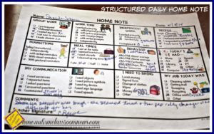 Communication with families from the special education classroom is so important.  Particularly for students with autism or other communication disabilities.  These daily home notes that are easy to use, meaningful to families, and allow students to communicate about their day.