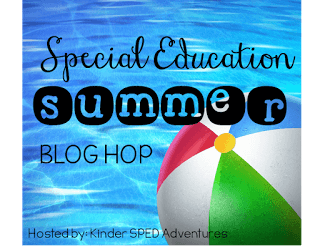 Special Education Summer Blog Hop for Back to School