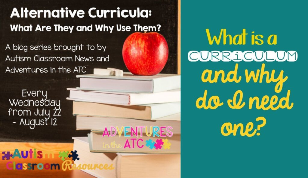why is curriculum necessary in special education?
