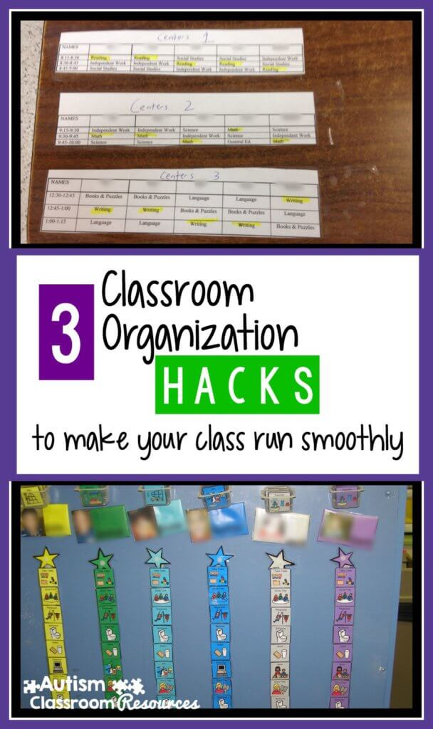 3 classroom hacks to make your autism classroom run smoothly