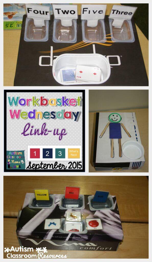 Workbasket Wednesday September 2015 Autism Classroom Resources