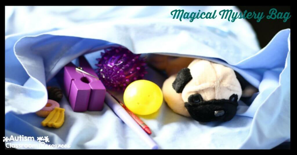 magical mystery bag to increase engagement in instruction