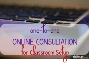 Online consultation for classroom set up giveaway