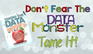 Taming the Data Monster Landing Page Title
