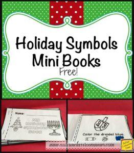 Holiday Symbols Mini Books Free from Autism Classroom News