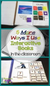 5 More Ways I Use Interactive Books in the Classroom by Autism Classroom Resources