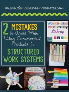 2 Mistakes to Avoid When Using Commercial Products in Structured Work Systems