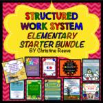 Structured Work System Elementary Starter Bundle
