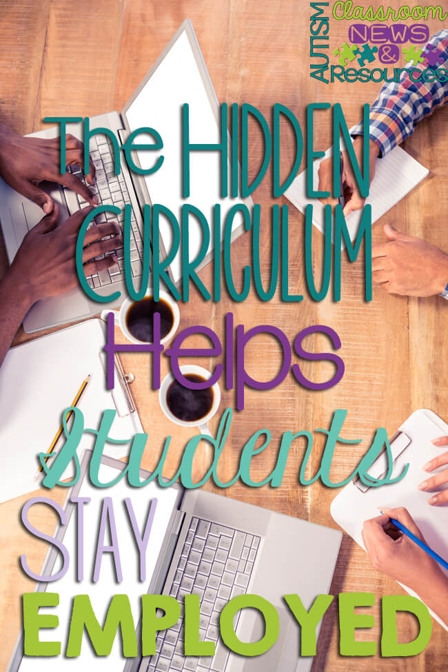 The Hidden Curriculum Helps Students Stay Employed