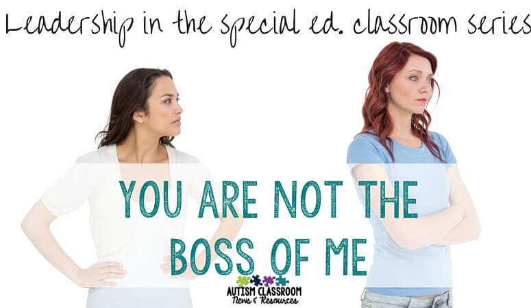 5 tips of where to start when you are asked to help another teacher, especially if you don't see things the same way. Get off on the right foot and handle conflict in the classroom. Leadership in the special education classroom series.