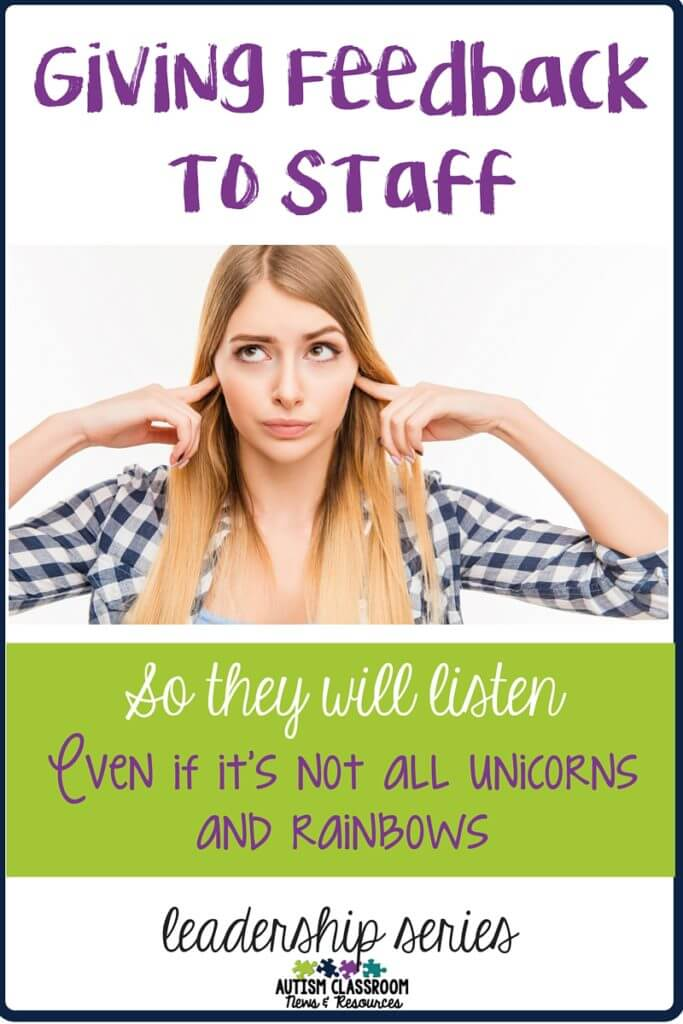 Ideas about providing feedback to staff, particularly when it's not all hearts and sunshine. Here are 9 things you can do to help it go better.