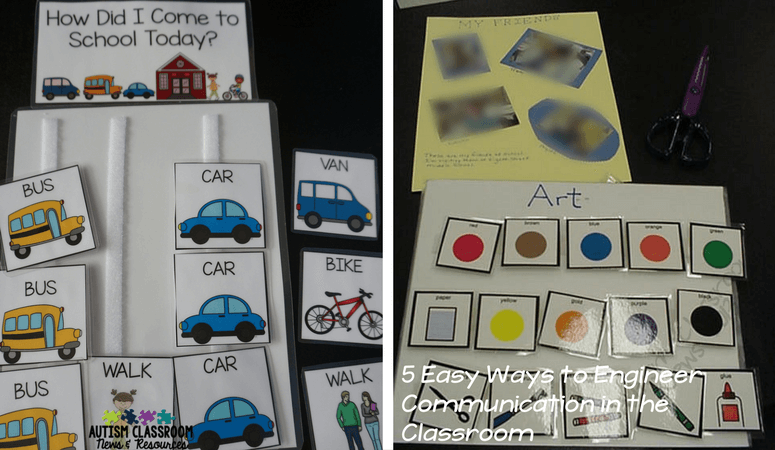 Communication boards, for requesting and commenting, are great ways to increase functions of communication in the special education classroom.