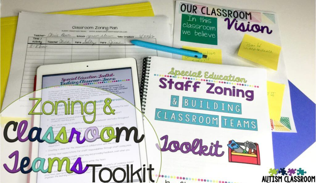 Building classroom teams and zoning staff toolkit review