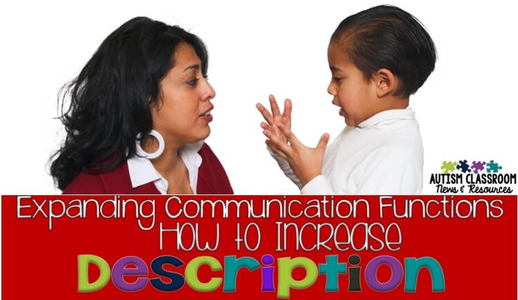 Our students with autism struggle with making connections from receptive language to expressive language. They learn to understand and connect things receptively but they need explicit instruction to use it expressively. Here are some ways to teach it.