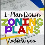 All special education teachers are going to be short-staffed at one time or another. The key is not to panic, but to plan for it. Check out how and why you would want to make a 1-man down zoning plan to support your classroom management strategies.