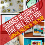 Teachers, we all need a little help to get to the end of the year.!..or to survive ESY. This post has tons of summer resources, paid and free, to help you survive or thrive in ESY!