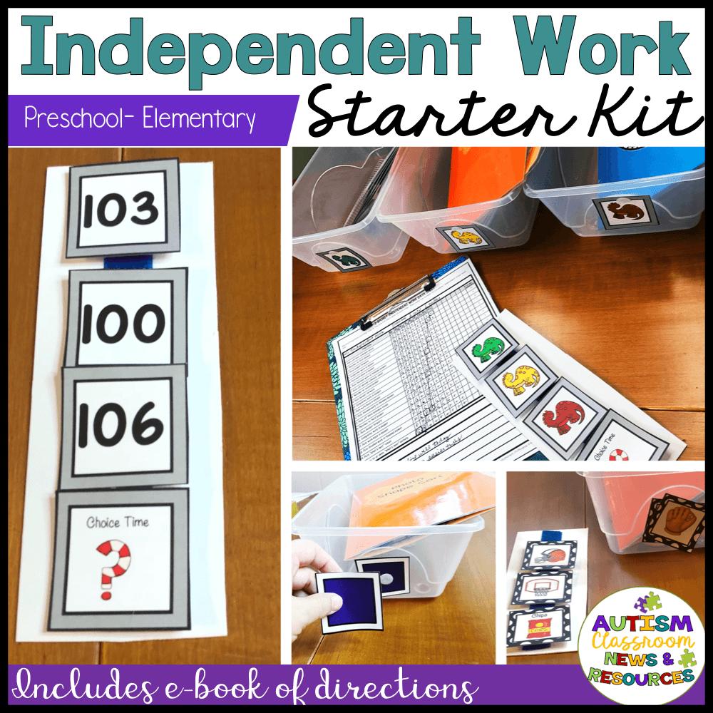 Independent Work Starter Kit: Preschool - Elementary