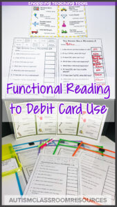 These tools are designed specifically to help students learn how to understand pricing, buying and using money in a store. They include tools and ideas for teaching debit card use, making change, writing checks, understanding sales flyers and more. Check it out to find out more.