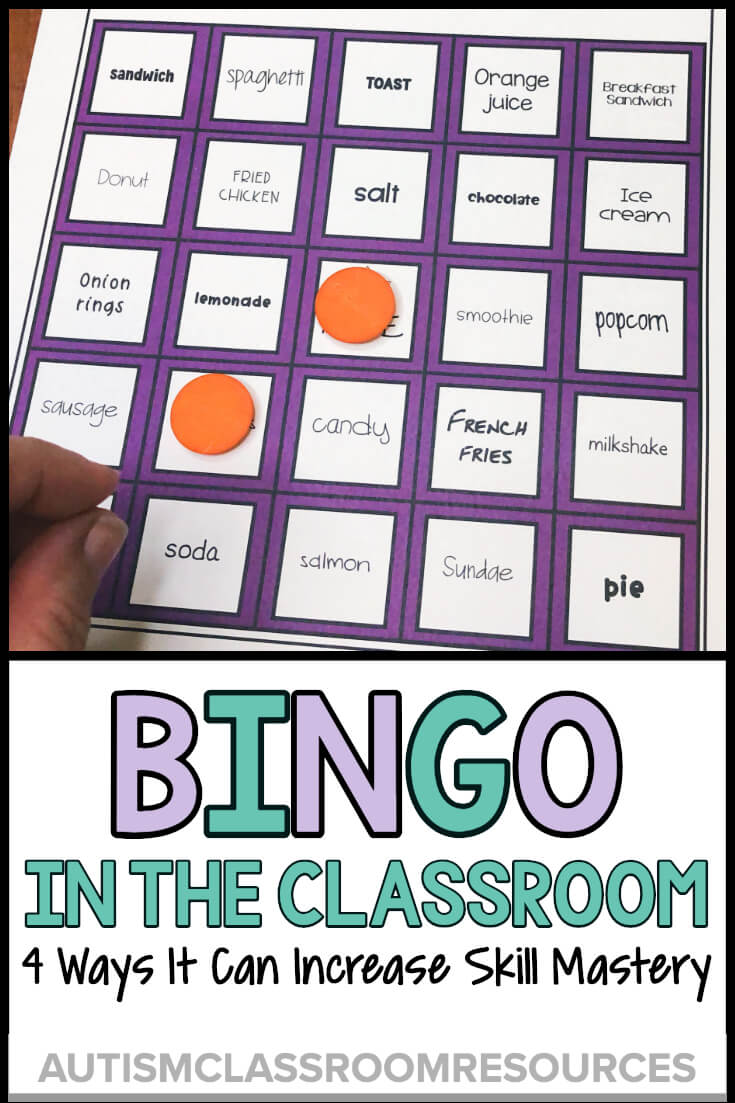 Most of our students in life skills classes don't learn effectively by just being presented with skills one way, one day. They need to practice skills in a variety of ways in order to maintain them, as well as to generalize them to real-life situations. One way to do that is with BINGO activities built around the skills you are teaching. Find out 4 ways you can use BINGO to engage and expand your students' learning.