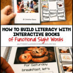 Functional interactive books can help build a variety of reading skills to build literacy and comprehension. I like combining them with the functional sight words and environmental print because they translate easily into the context of the students' real lives. Find out how you can use them in this post.