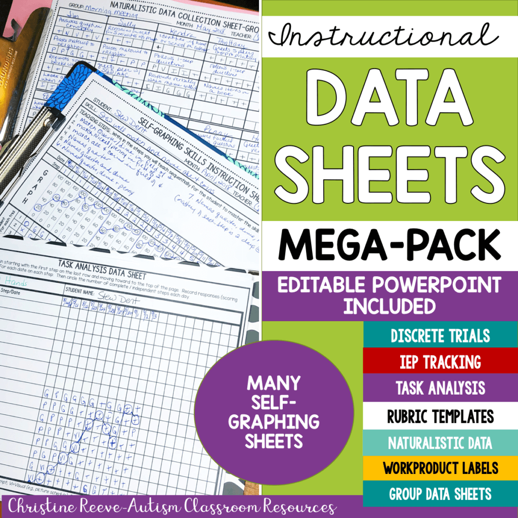 Instructional Data Sheets Mega-Pack