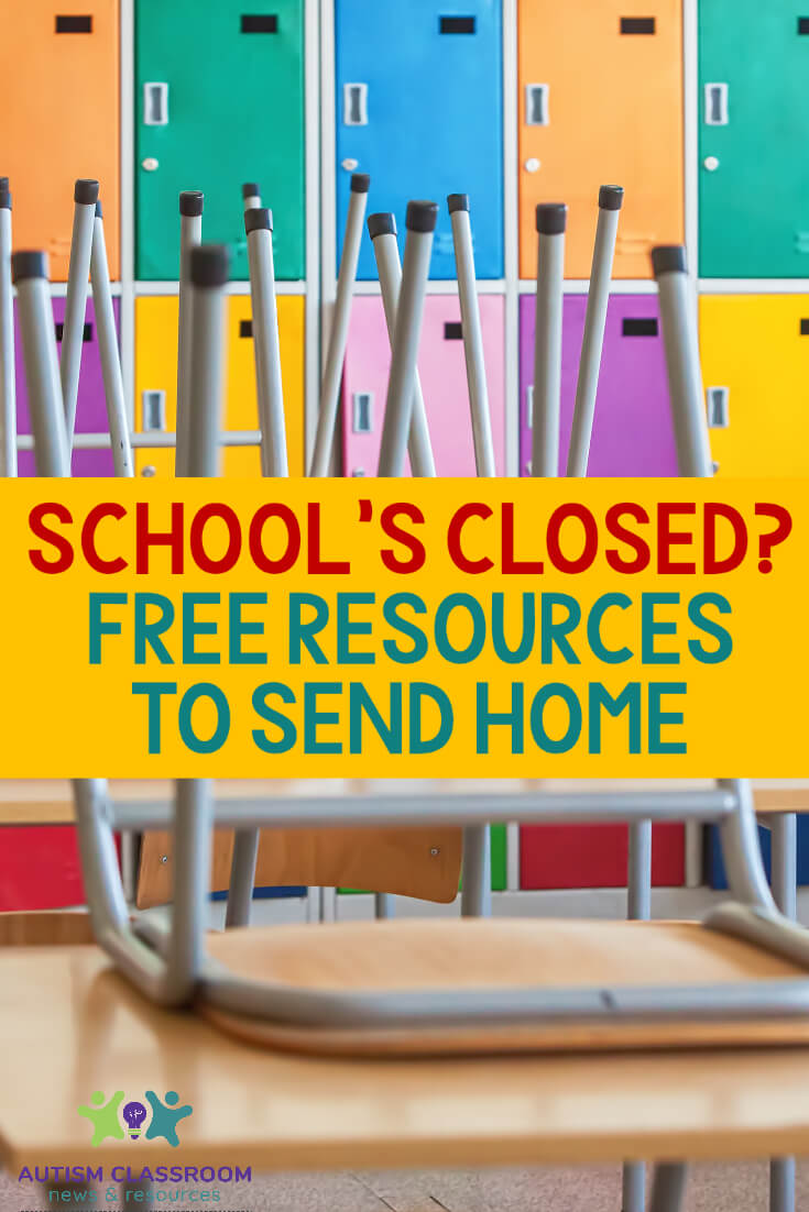 School's Closing: Free Resources to Send Home