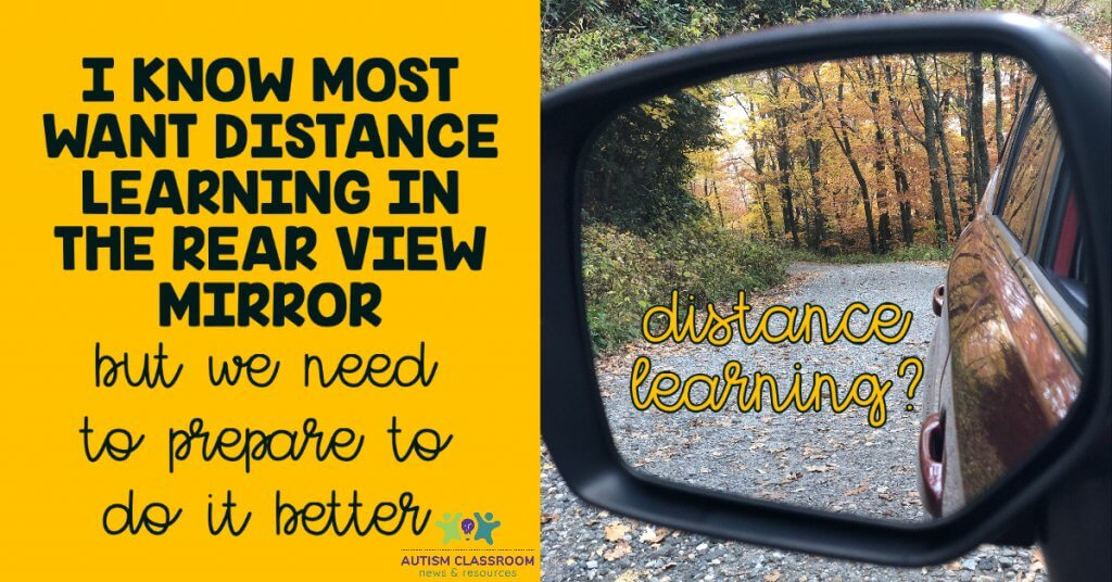I know most of us want distance leanring in our rear view mirror but we need to prepare to do it better if it's not.
