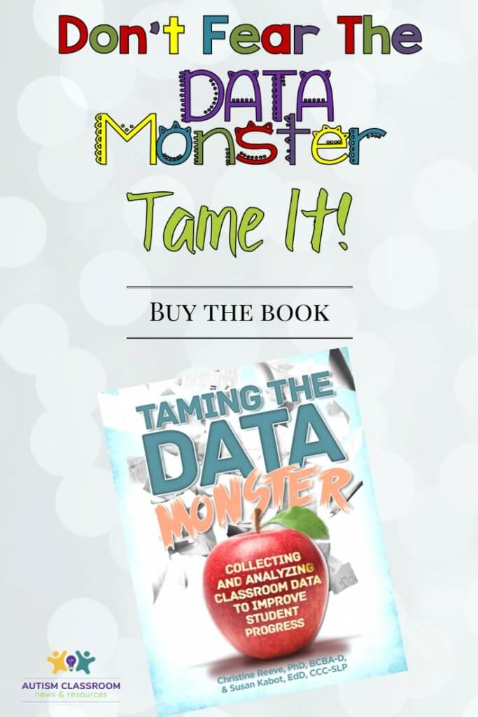 Don't fear the data monster! Tame it. buy the book
