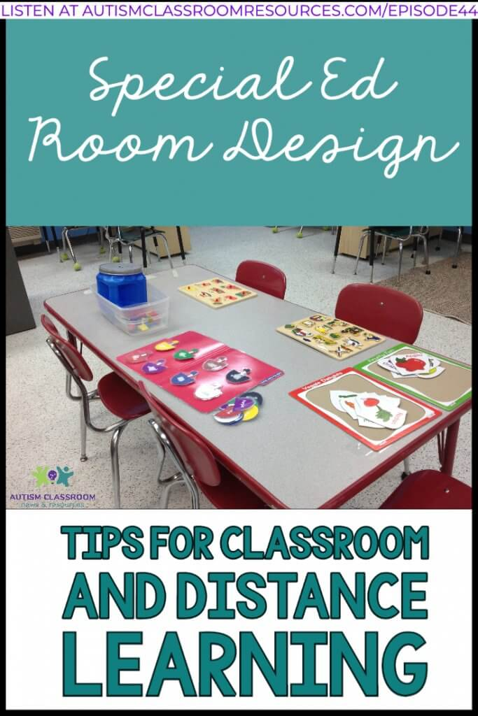 SPECIAL ED ROOM DESIGN TIPS FOR CLASSROOM AND DISTANCE LEARNING