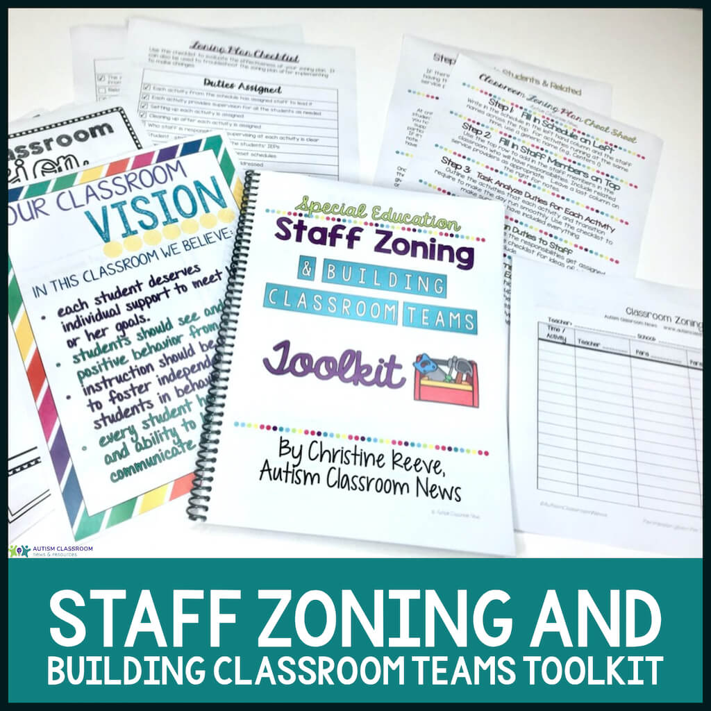 Staff zoning and building classroom teams toolkit