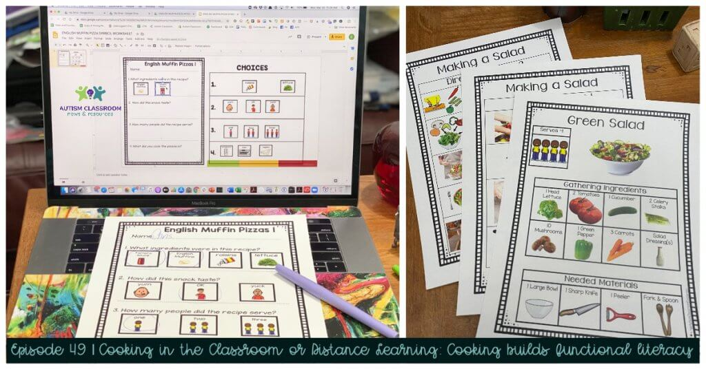 cooking builds literacy skills. episode 49 Cooking in the Classroom