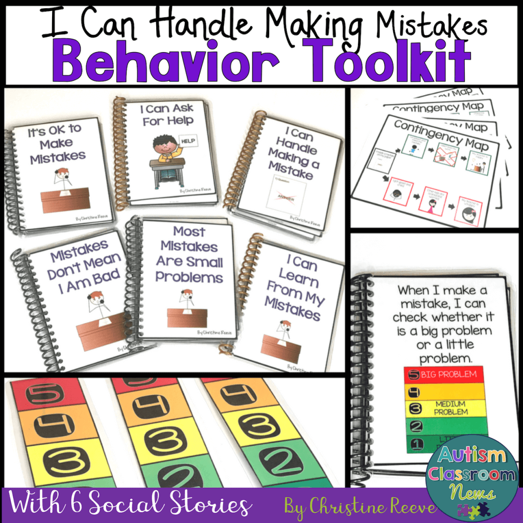 I Can Handle Making Mistakes Behavior Toolkit