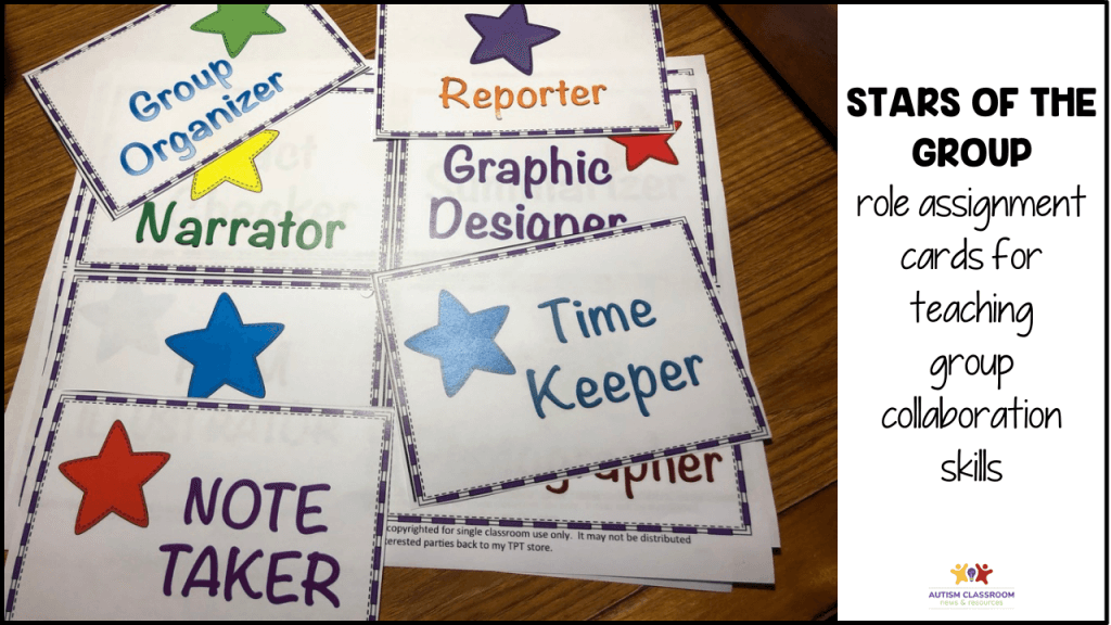 Stars of the Group: A free download that can help students manage collaborative groups