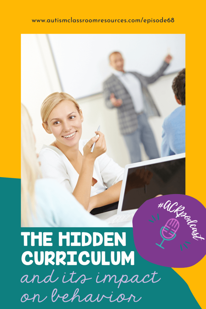 THE HIDDEN CURRICULUM and its impact on behavior