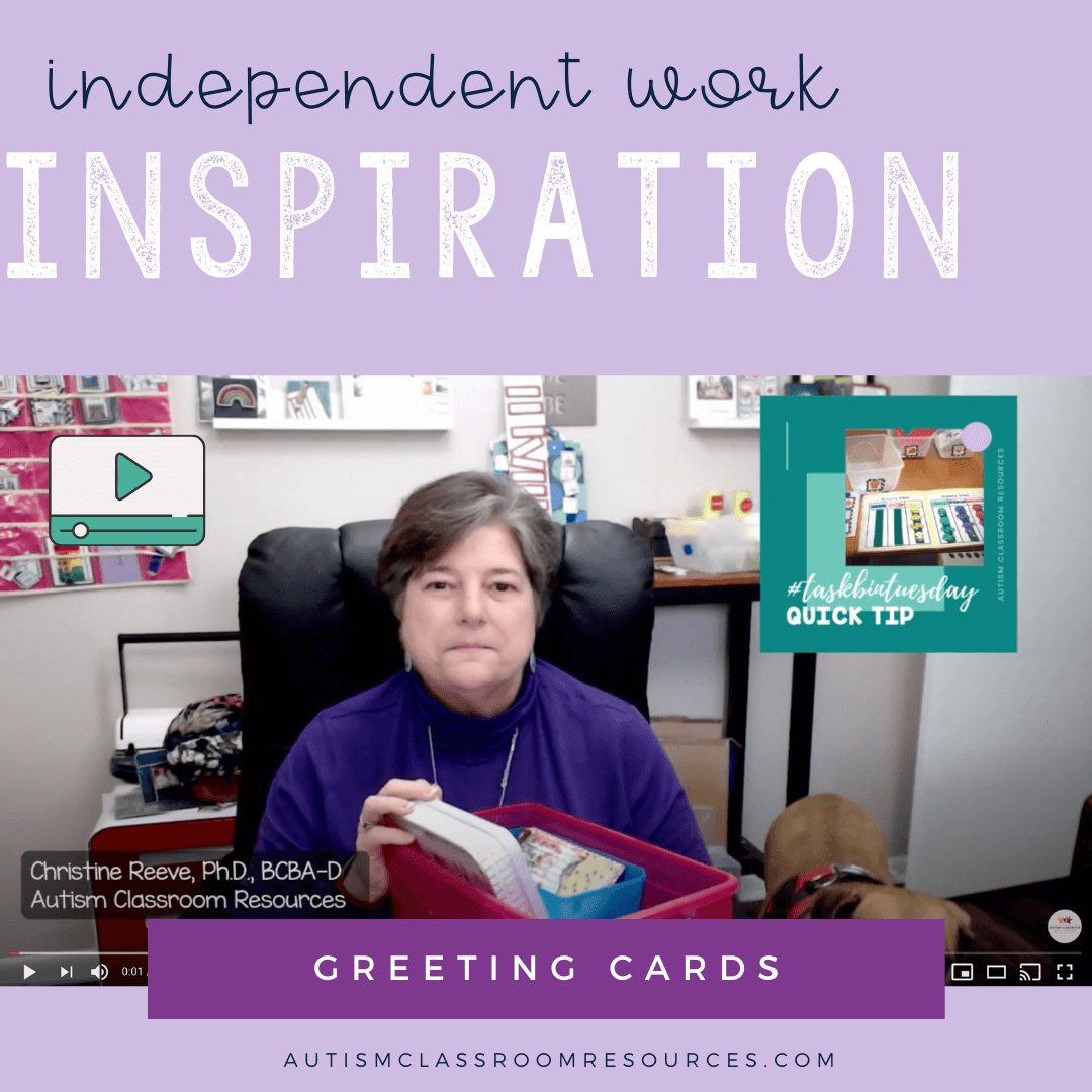 Independent Work Inspiration: Greeting Cards with Video Tutorial