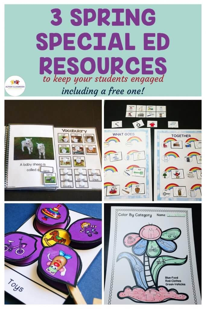 3 Spring Special Education Resources to Keep Students Engaged (and 1 is even free!)