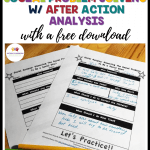 How to teach social problem solving with after action reports. With a free download. #ACRpodcast