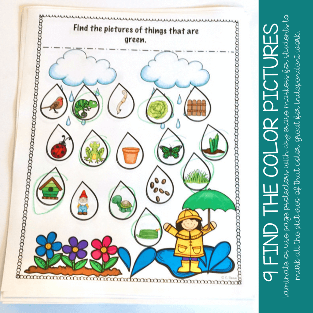 Spring Early Childhood Activities for Early Childhood