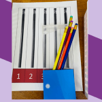 Independent Work Inspiration: Pencil Packaging Free Task Box Template