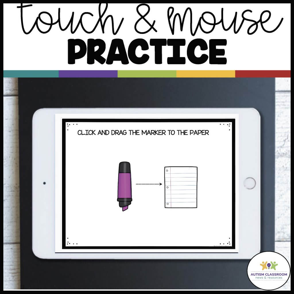 touch and mouse practice