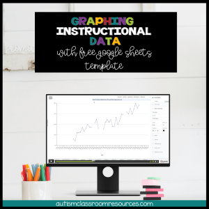 Graph instructional data with free Google Sheets template