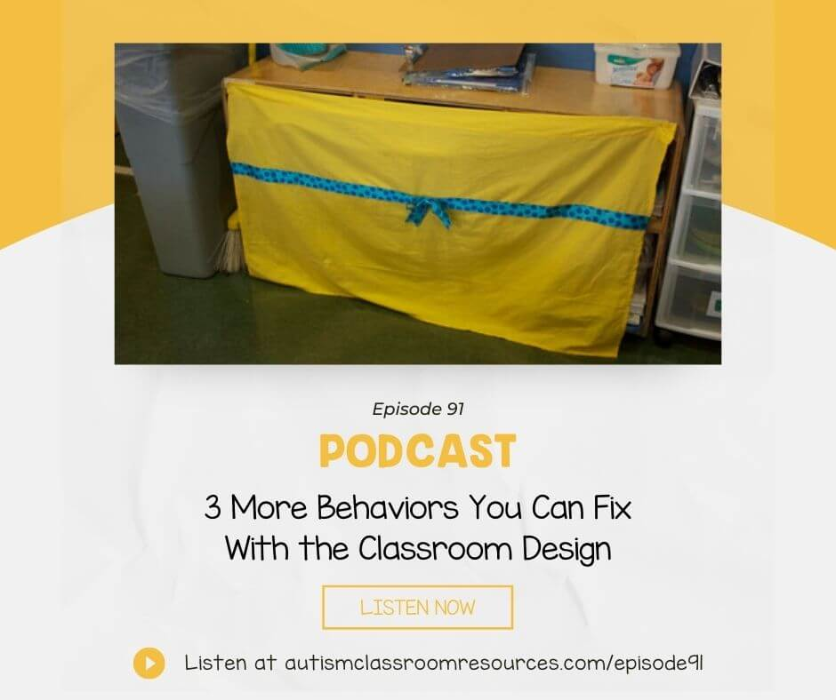 3 More Behaviors You Can Fix With the Classroom Design