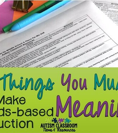Standards-based instruction can be tough for students with significant disabilities. Here are 4 tips to help make it meaningful for our students.