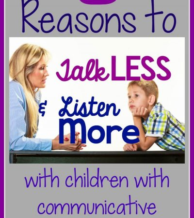 5 reasons to talk less and listen more with autism
