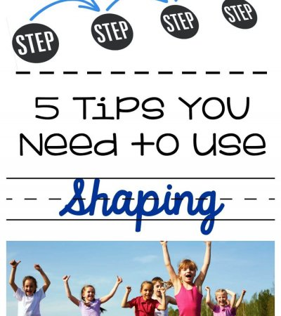 5 tips you need to use shaping effectively for teaching by Autism Classroom Resources