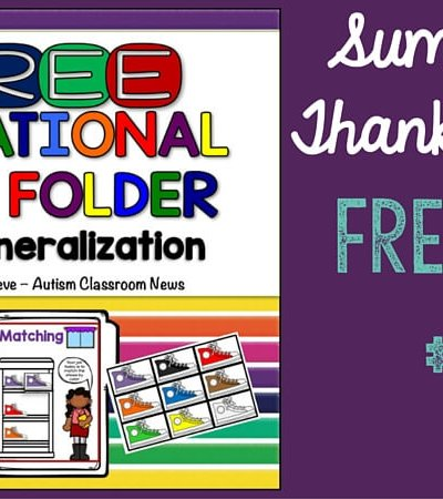 Free file folder activity for matching colors for all ages