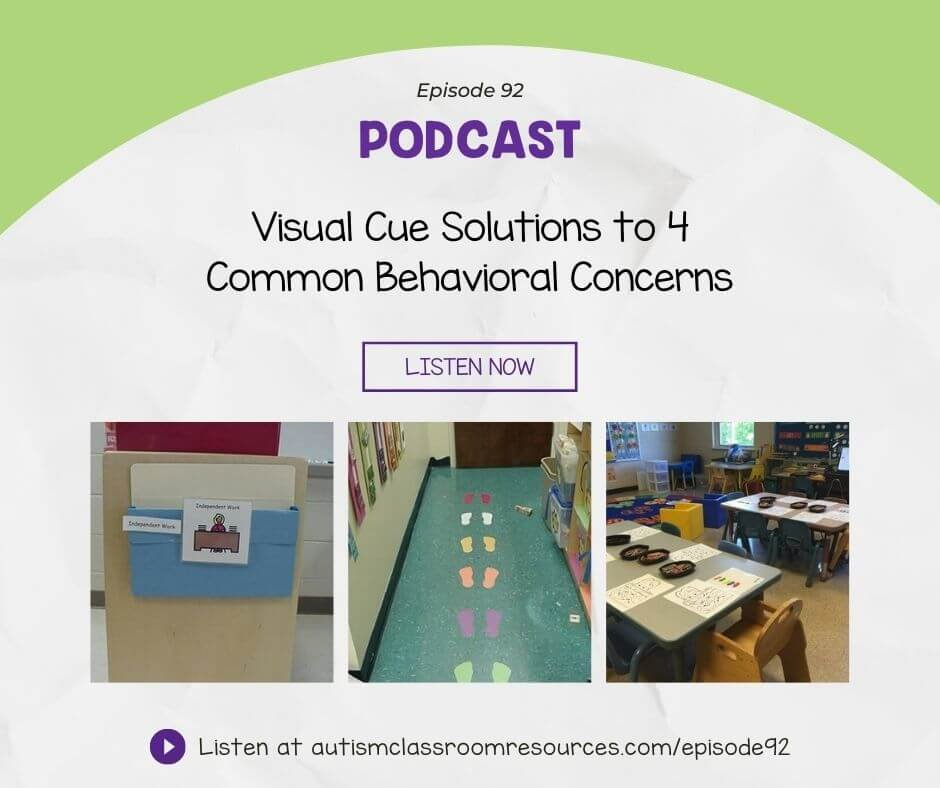 Visual Cue Solutions to 4 Common Behavioral Concerns